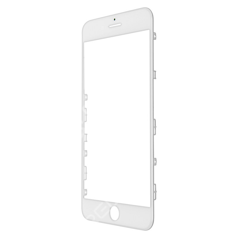 For Apple iPhone Glass Lens with Front Bezel and OCA Glue Sheet