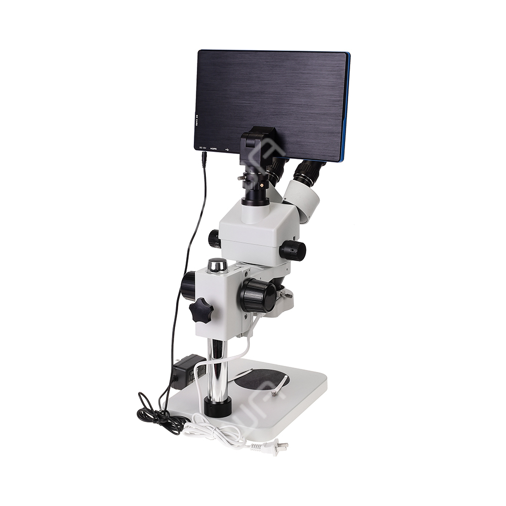 1080P Electronic HDMI Stereo Trinocular Microscope