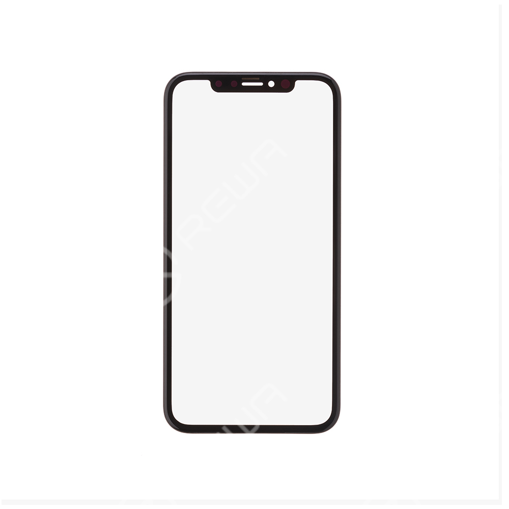 For Apple iPhone XR/11 Glass Lens with Front Bezel and OCA