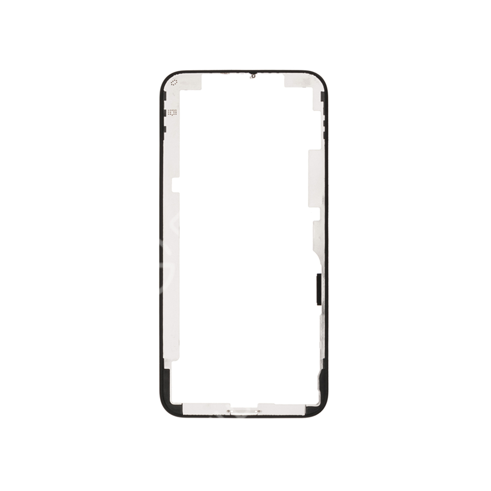 For Apple iPhone XS Front Bezel - Black - S+