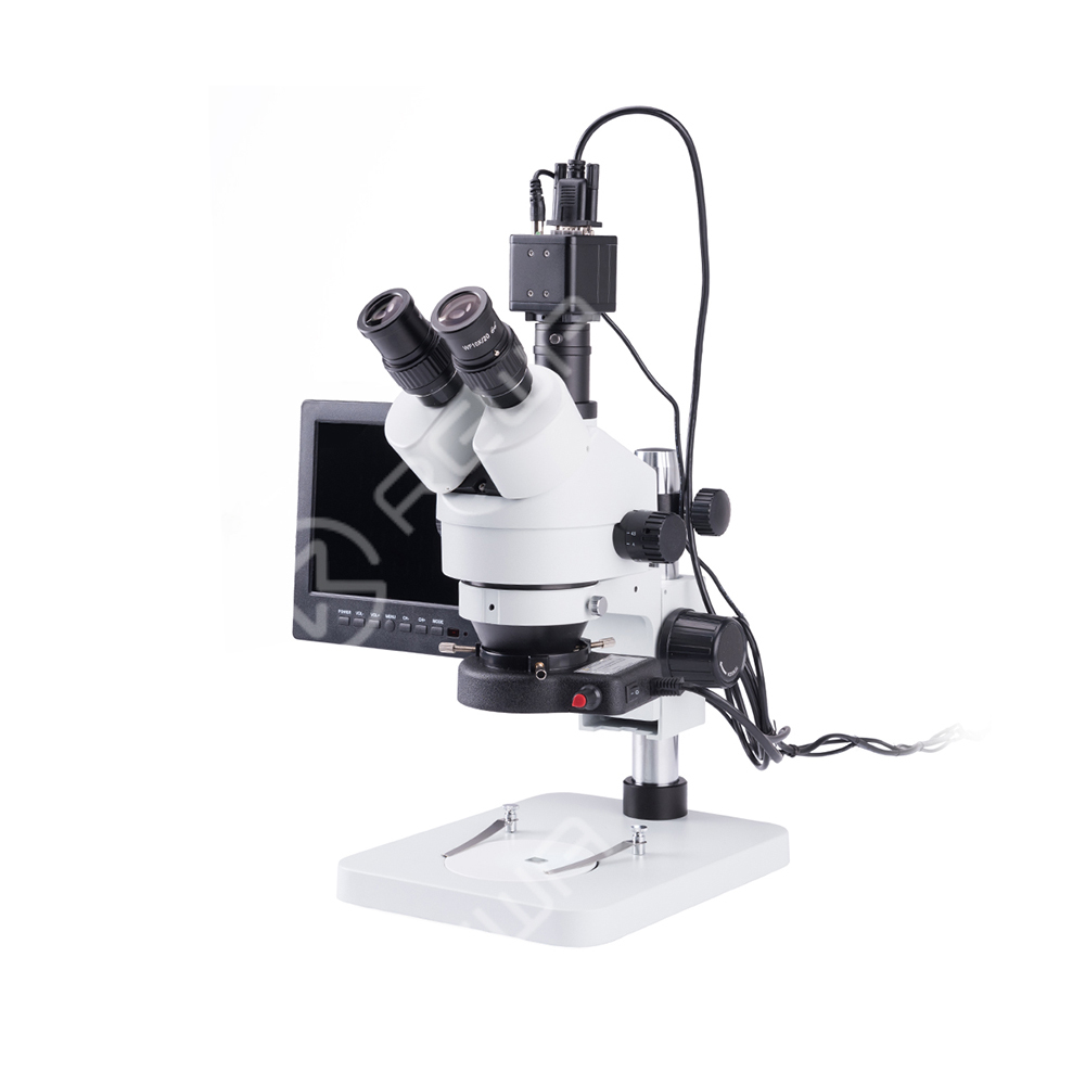 Digital Trinocular Microscope with Camera VGA