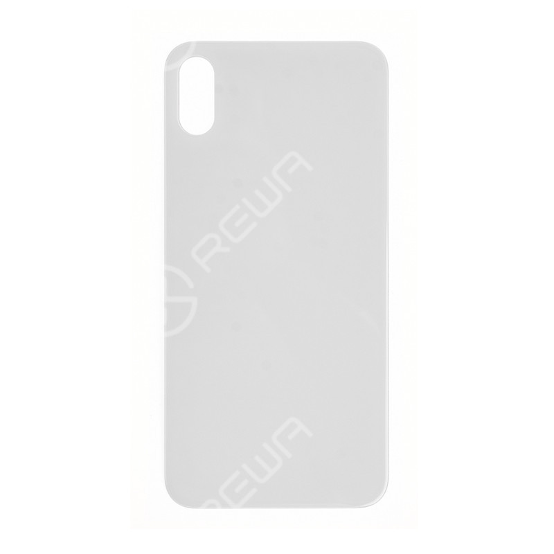 For Apple iPhone X Back Glass Cover Replacement (No Logo)