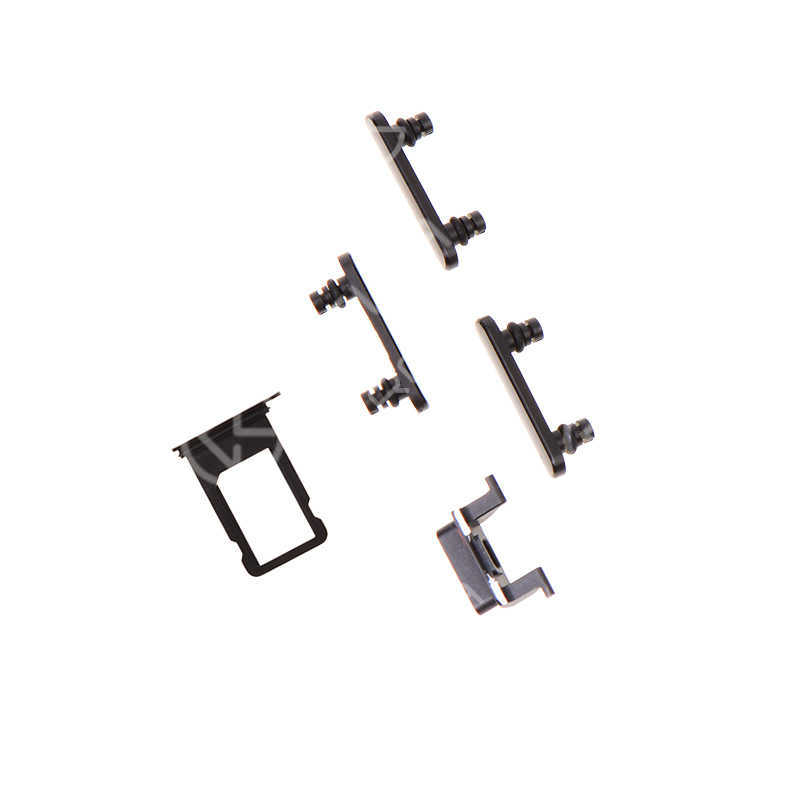 For Apple iPhone 7 Side Button Set with SIM Card Tray