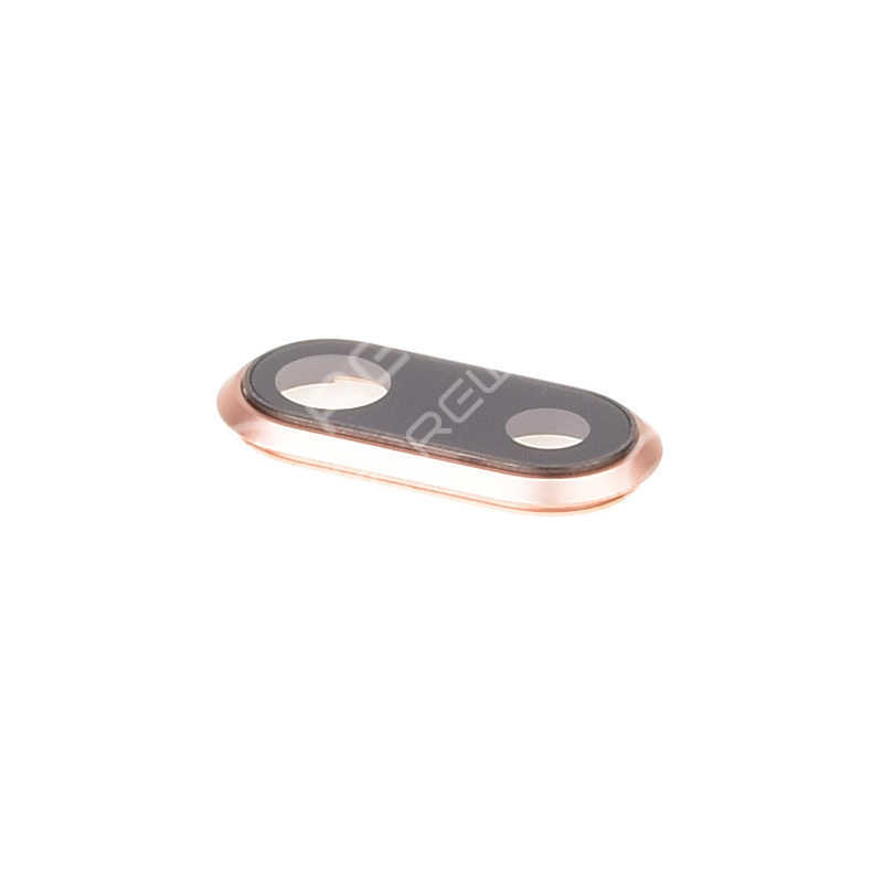 For Apple iPhone 8 Rear Camera Frame with Lens