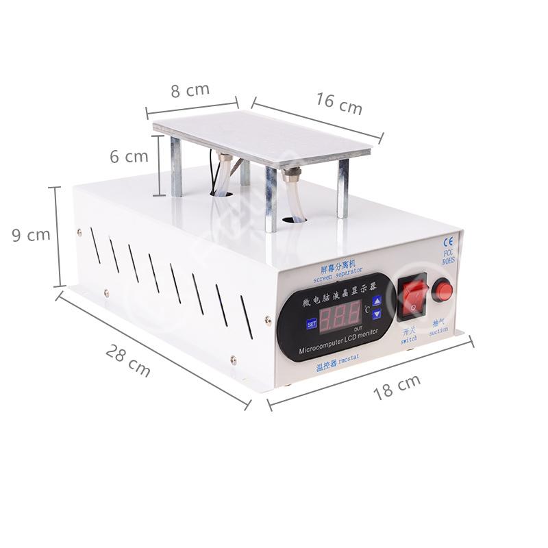 Manual LCD Separating Machine With Built-in Dual Vacuum Pump - OEM NEW