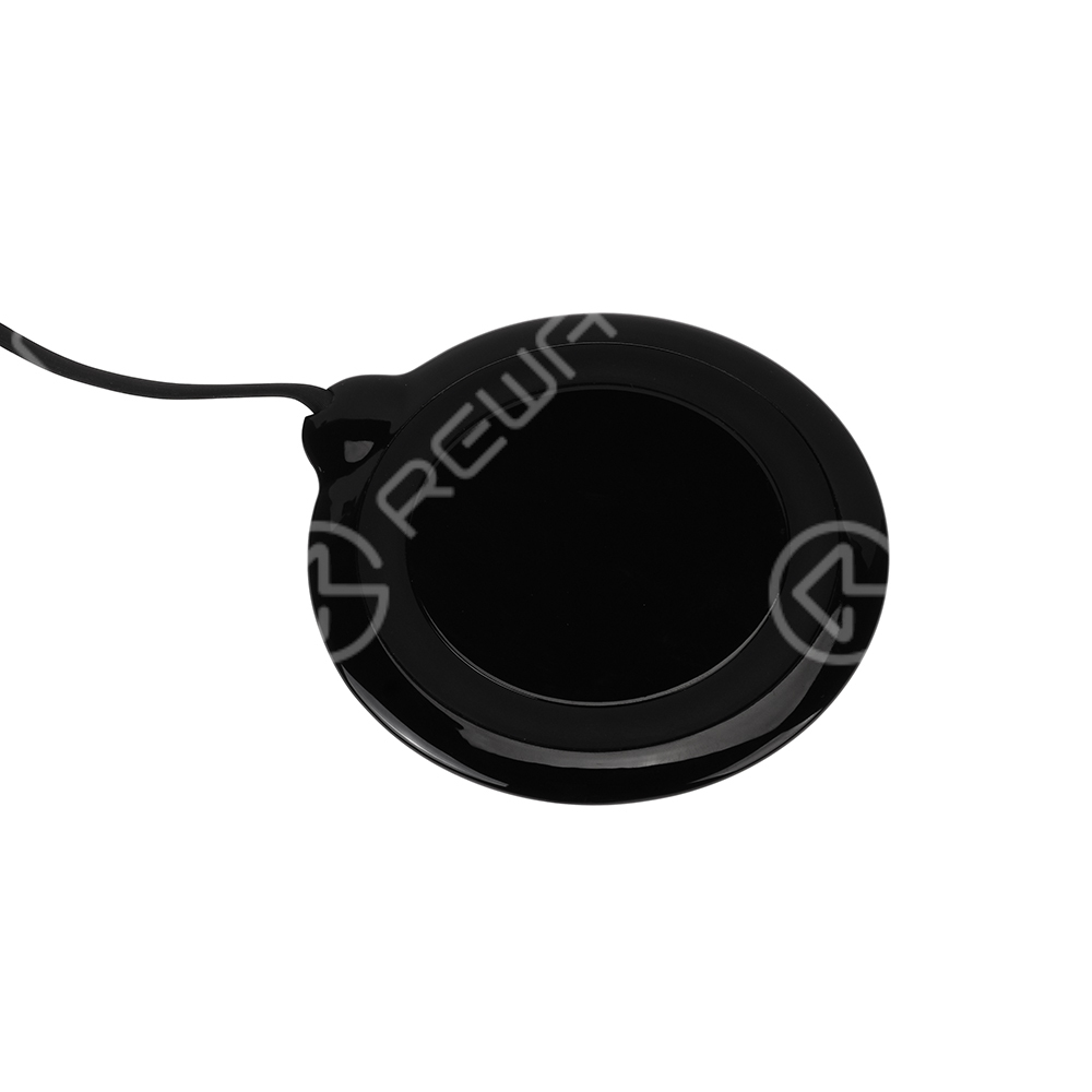 10W Qi Wireless Fast Charger For Mobile Phone - Black - OEM NEW