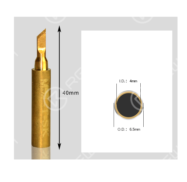 MaAnt Pure Copper Soldering Iron Tip Replacement