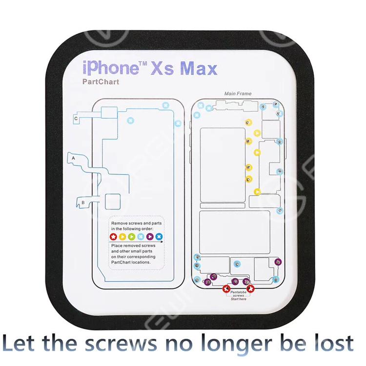 15 In 1 Megnetic Screw Mat For IP6/6+/6S/6S+/7/7+/8/8+/X/XR/XS/XS Max/11/11 Pro/11 Pro Max