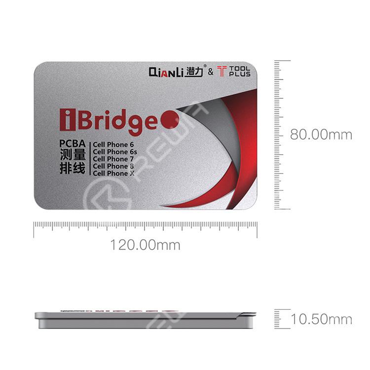 Qianli iBridge PCBA Extension Test Cable For iPhone 8/8P/X