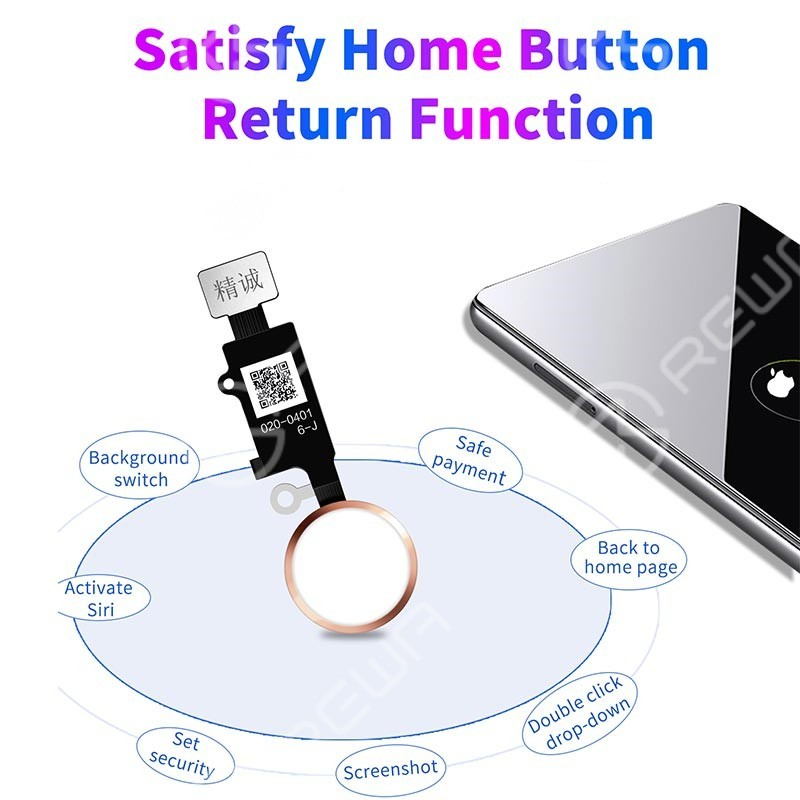 6 Gen Universal Home Button With 3D Touch For iPhone 7/7P/8/8P (the Final Edition) -AA Grade