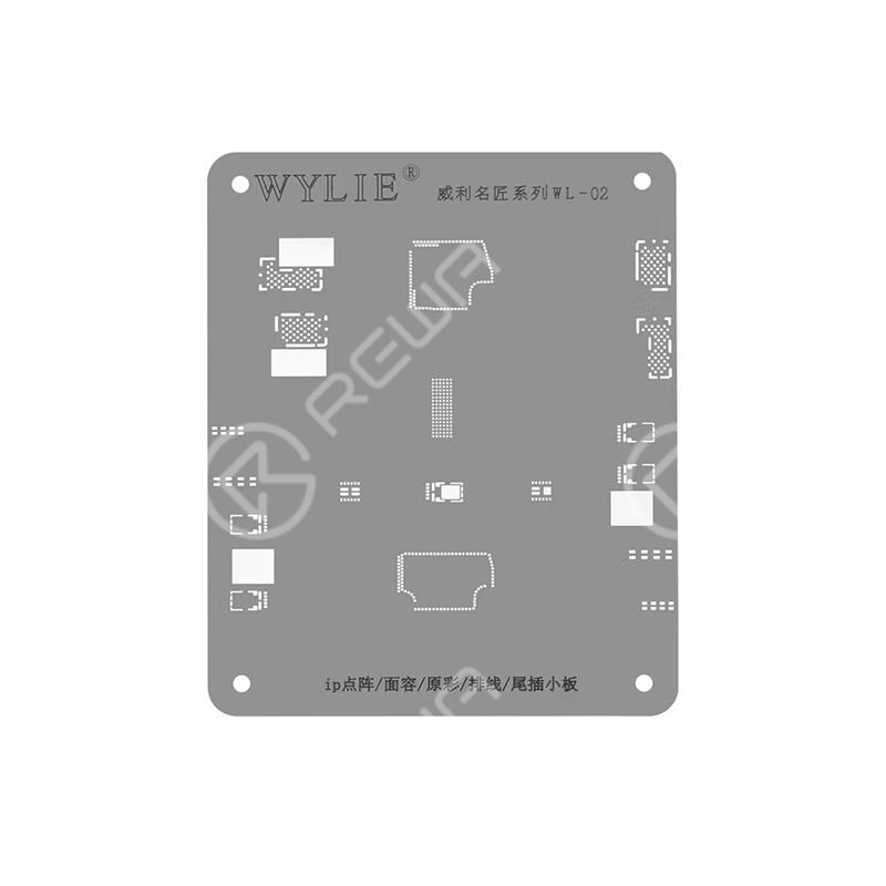WYLIE WL-02 Face ID Reair Reballing Stencil