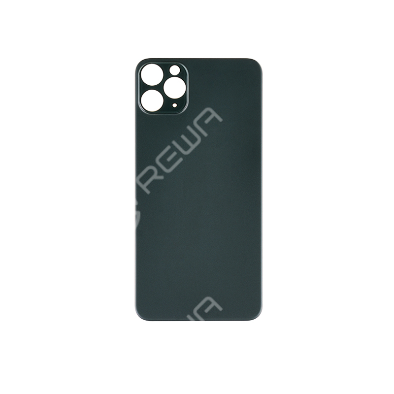 For iPhone 11 PRO Back Glass Cover With Big Camera Hole Replacement (No Logo)