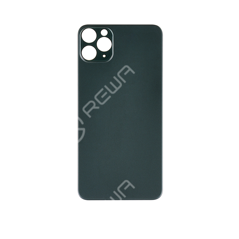 For iPhone 11 PRO MAX Back Glass Cover With Big Camera Hole Replacement (No Logo)