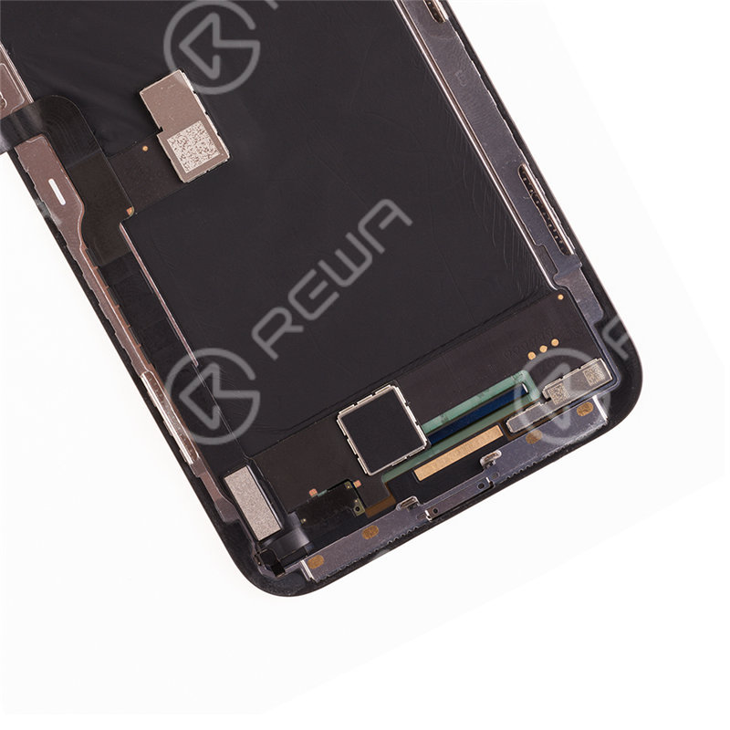 For Apple iPhone X  Hard OLED Assembly with Frame ( Aftermarket Premium )
