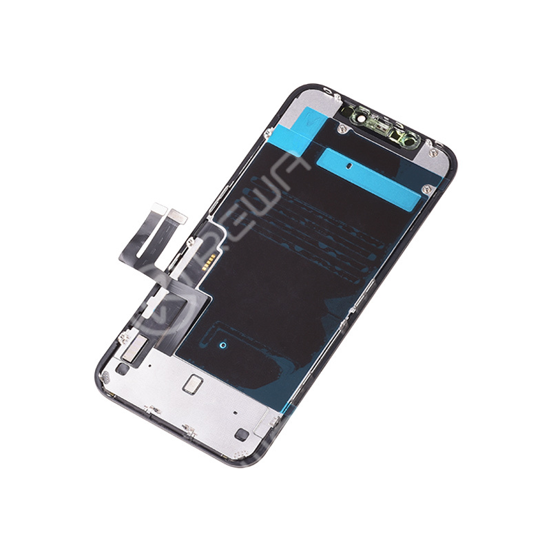 For Apple iPhone 11 LCD Assembly with Frame (OEM Refurbished )
