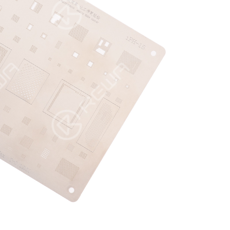 MiJing 0.12mm Reballing Stencil For iPhone X/11/12 Series