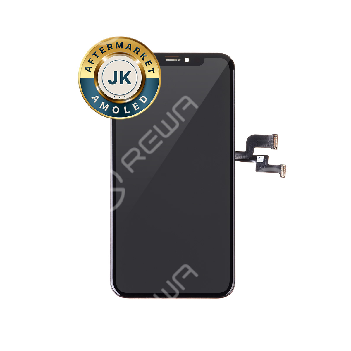 For Apple iPhone X Flexible OLED Assembly with Frame ( Aftermarket Advanced )