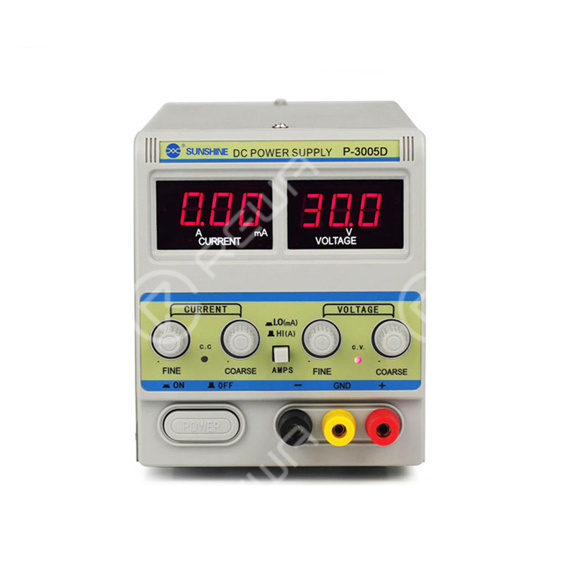 Sunshine P-3005D 5A 30V DC Power Supply With 3-Digital Display