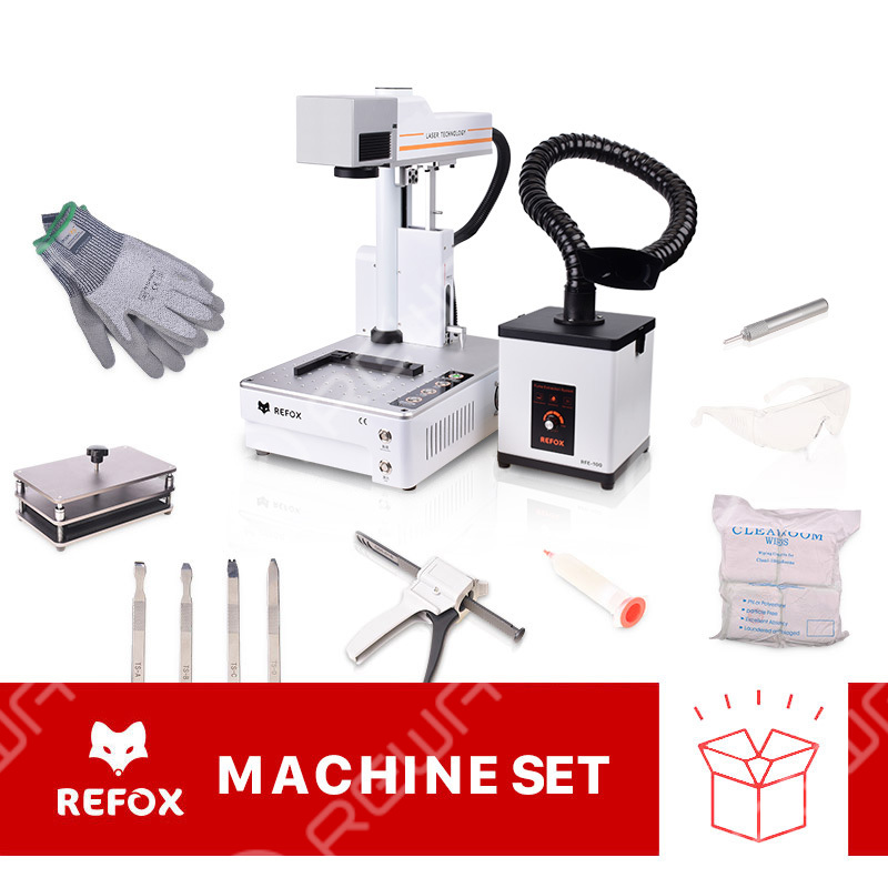 REFOX Upgraded Laser Marking Machine (Mini Ver.) Equipment Set