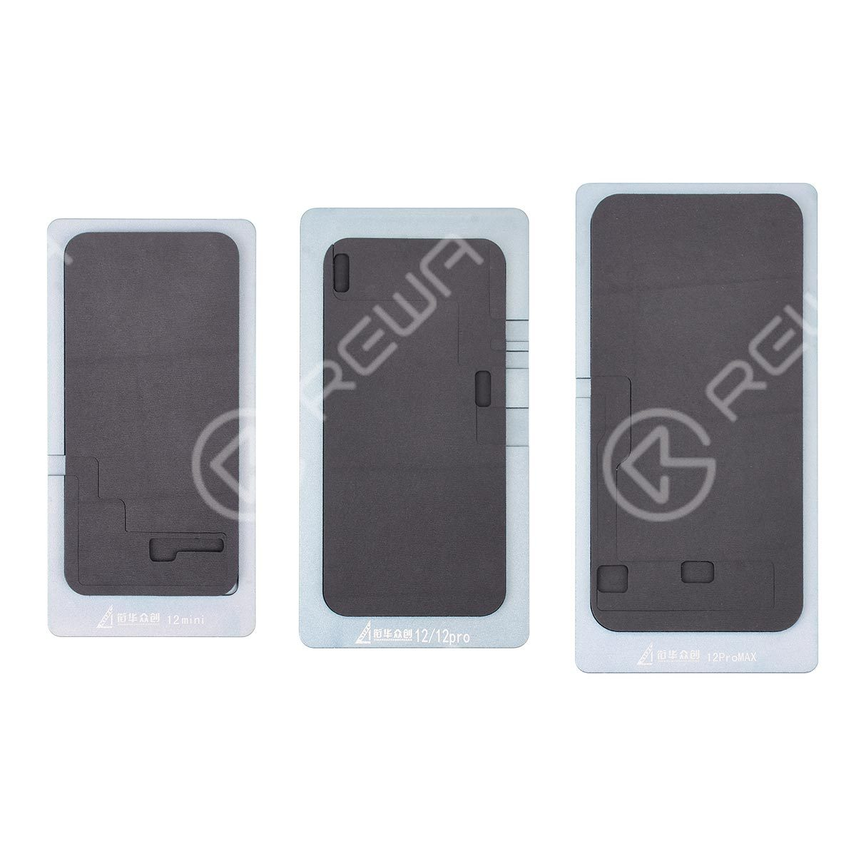 Laminating Mat  without Bezel Frame For iPhone 12 Series