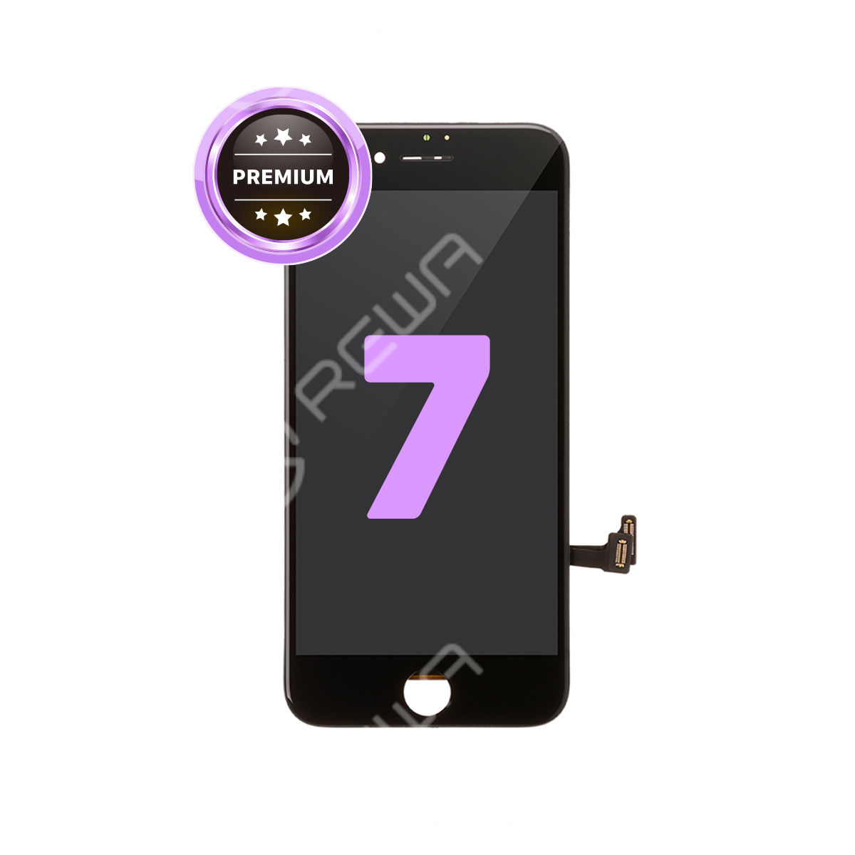 For Apple iPhone 7 LCD Assembly with Frame ( Aftermarket Premium )