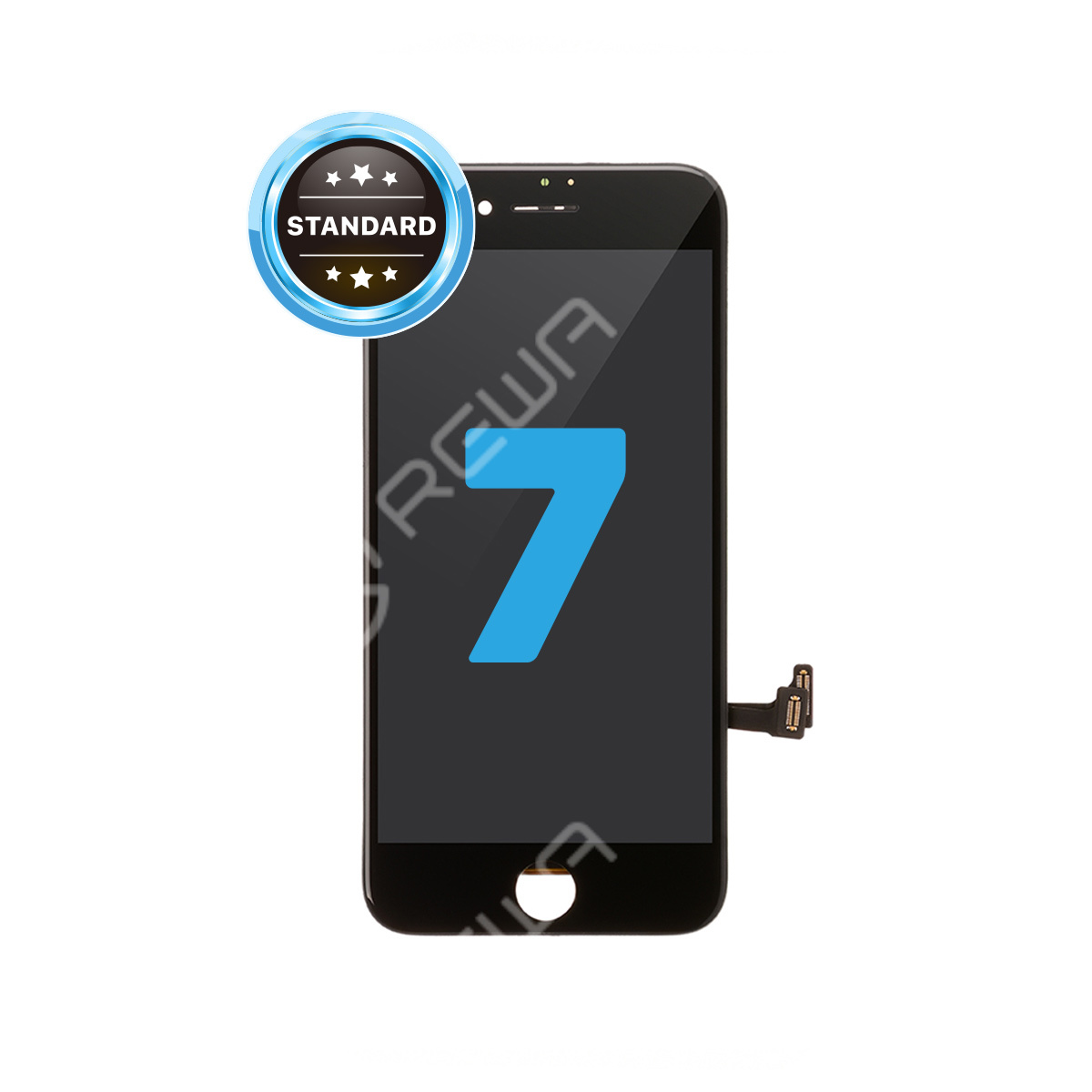 For Apple iPhone 7 LCD Assembly with Frame ( Aftermarket Standard )