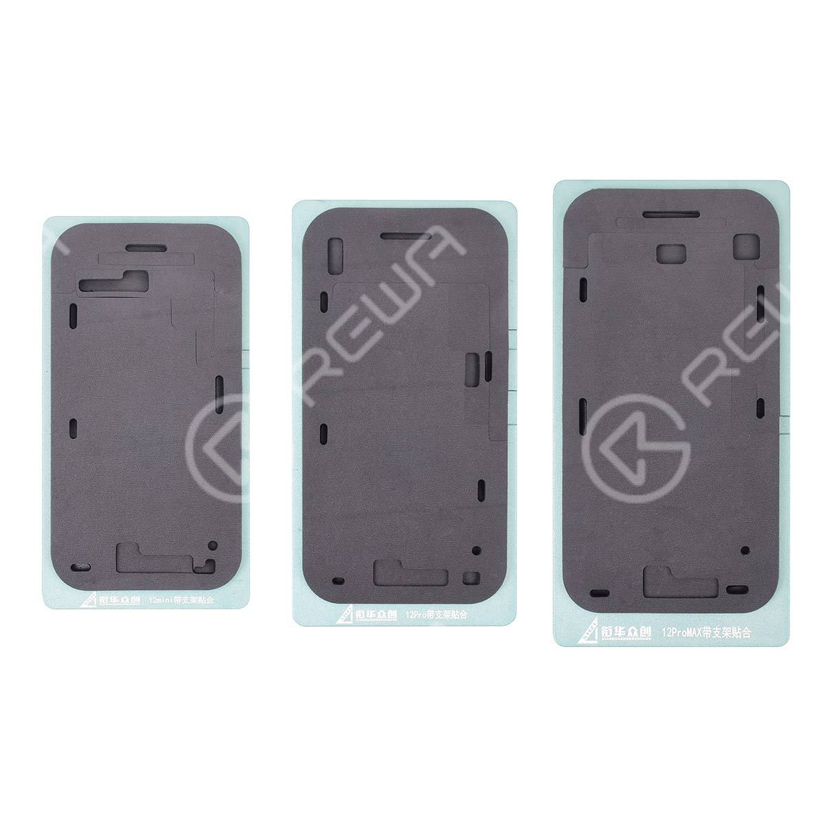 Laminating Mat  with  Bezel Frame For iPhone 12 Series