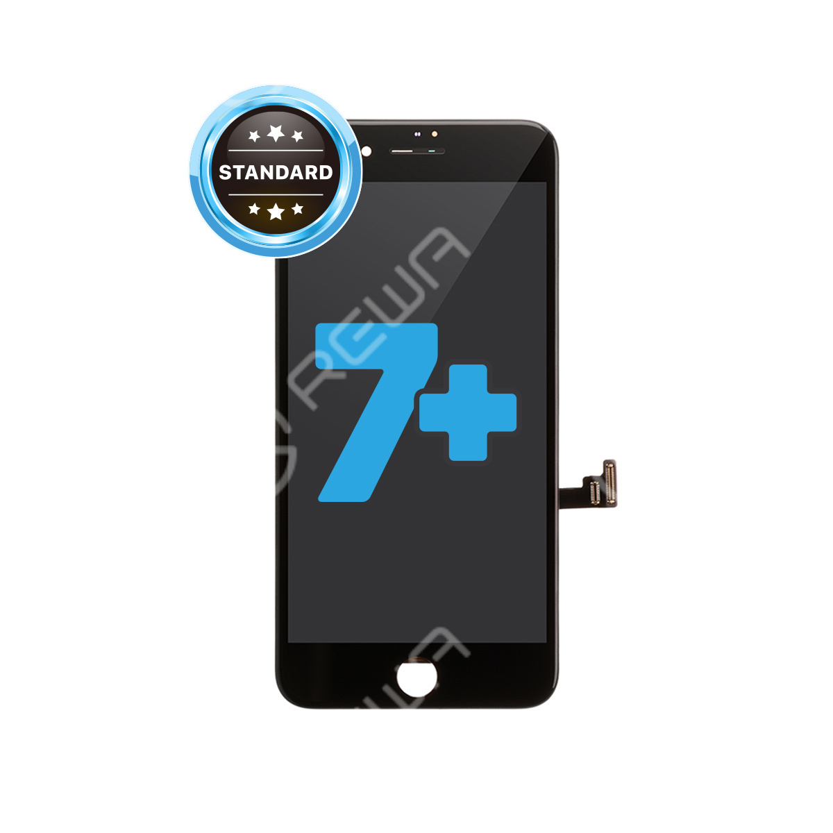 For Apple iPhone 7 Plus LCD Assembly with Frame ( Aftermarket Standard )