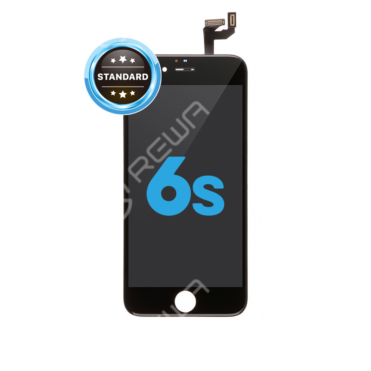 For Apple iPhone 6S LCD Assembly with Frame ( Aftermarket Standard )