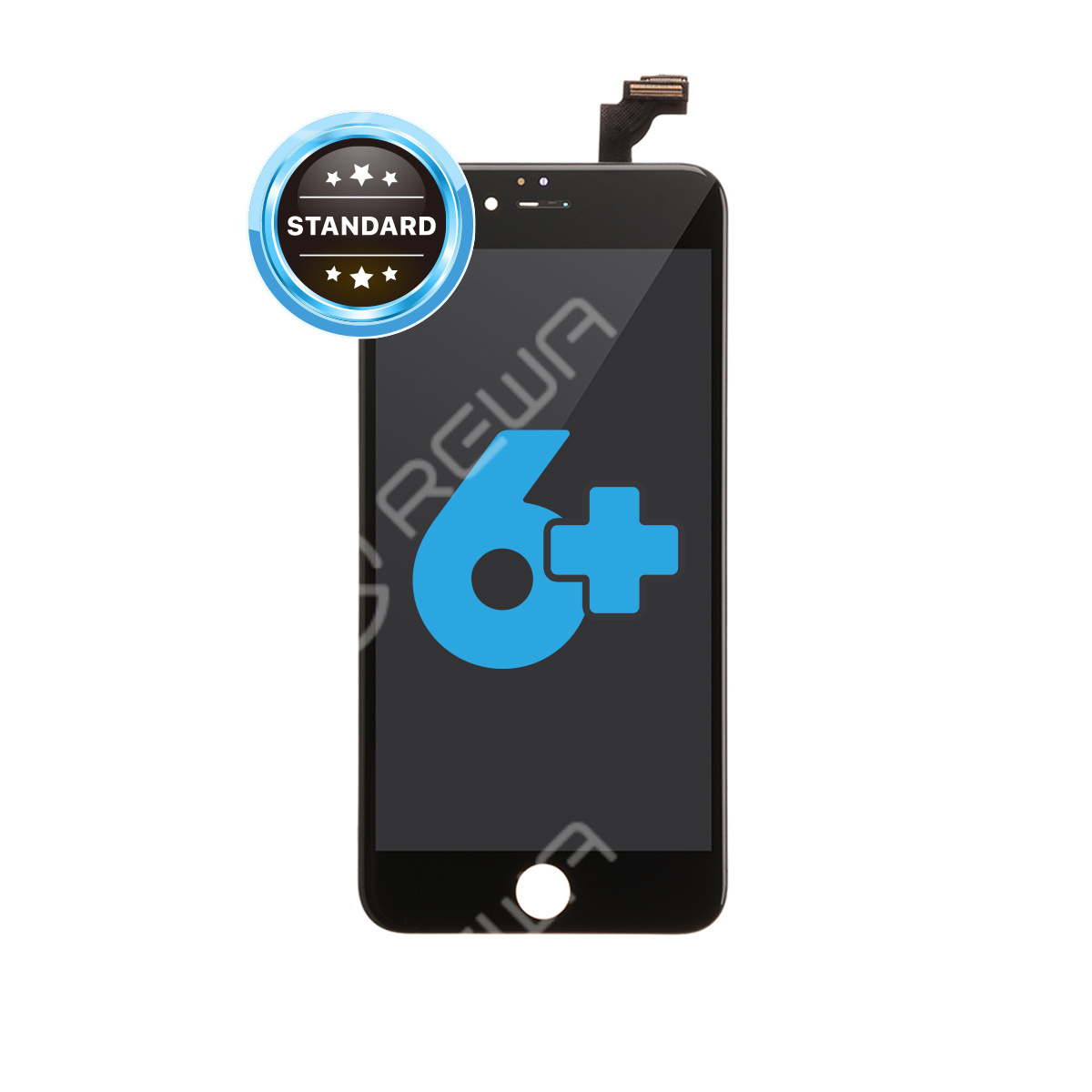 For Apple iPhone 6 Plus LCD Assembly with Frame ( Aftermarket Standard )