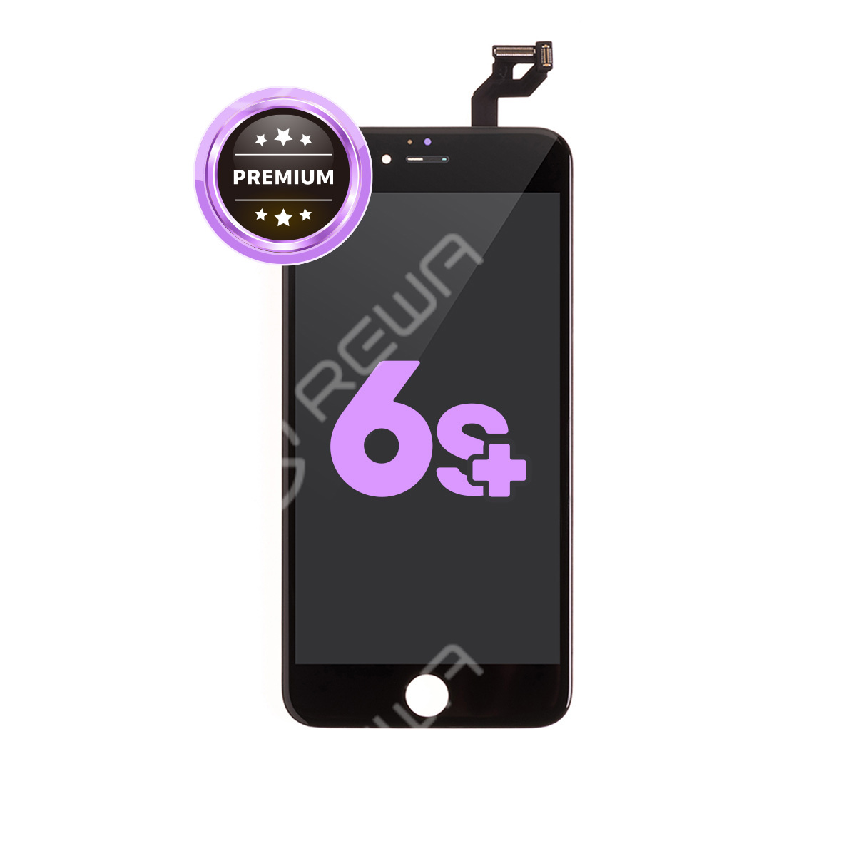 For Apple iPhone 6S Plus LCD Assembly with Frame ( Aftermarket Premium )
