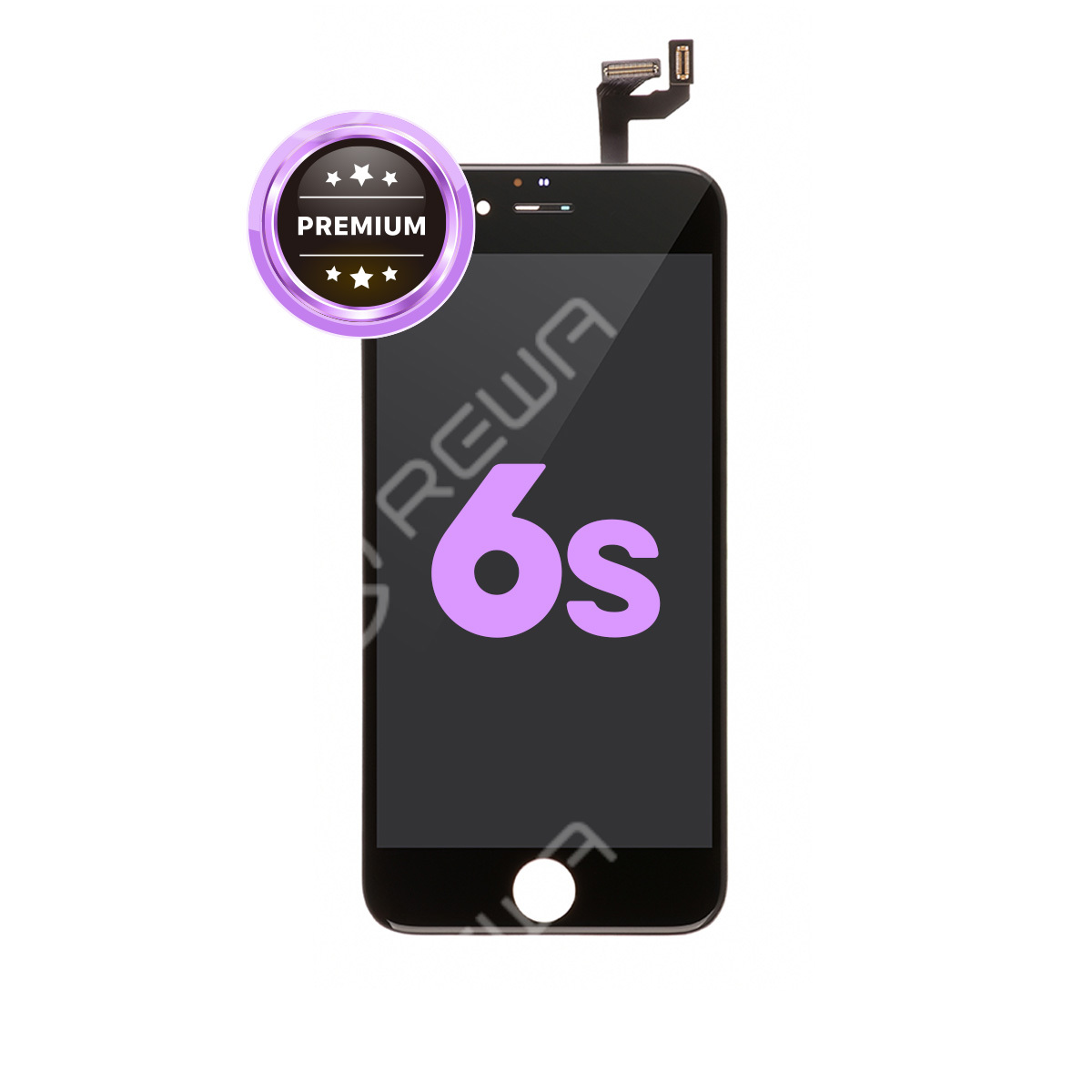 For Apple iPhone 6S LCD Assembly with Frame ( Aftermarket Premium )