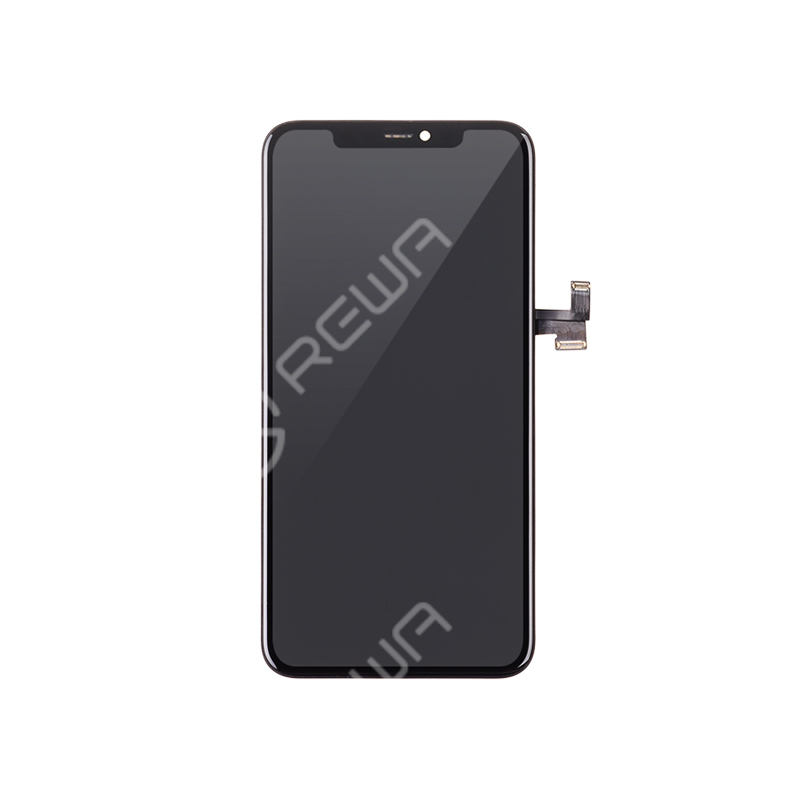 For Apple iPhone 11 PRO MAX  Hard OLED Assembly with Frame  (Aftermarket Premium)