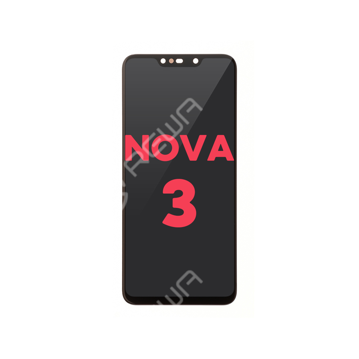For Huawei Nova 3 LCD Display and Touch Screen Digitizer Assembly Replacement