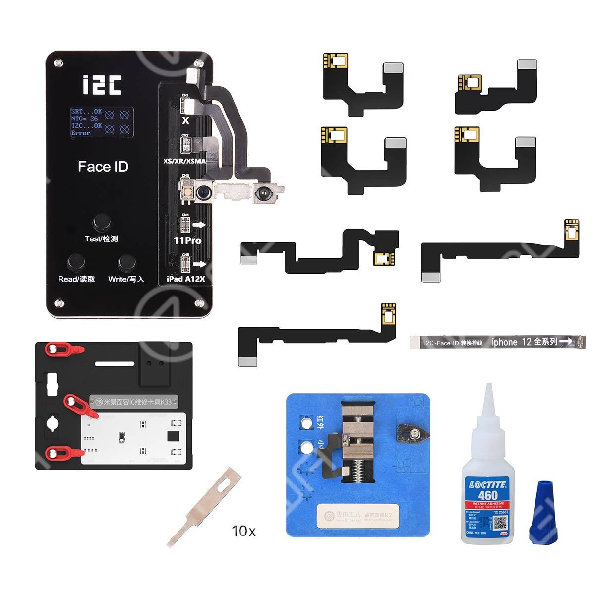 I2C Dot Projector Repair Tools And Materials Kit For iPhone X-11 Pro Max